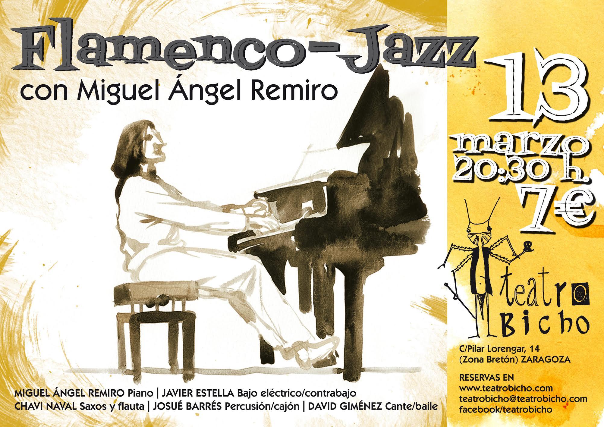 Flamenco-jazz M.A.Remiro