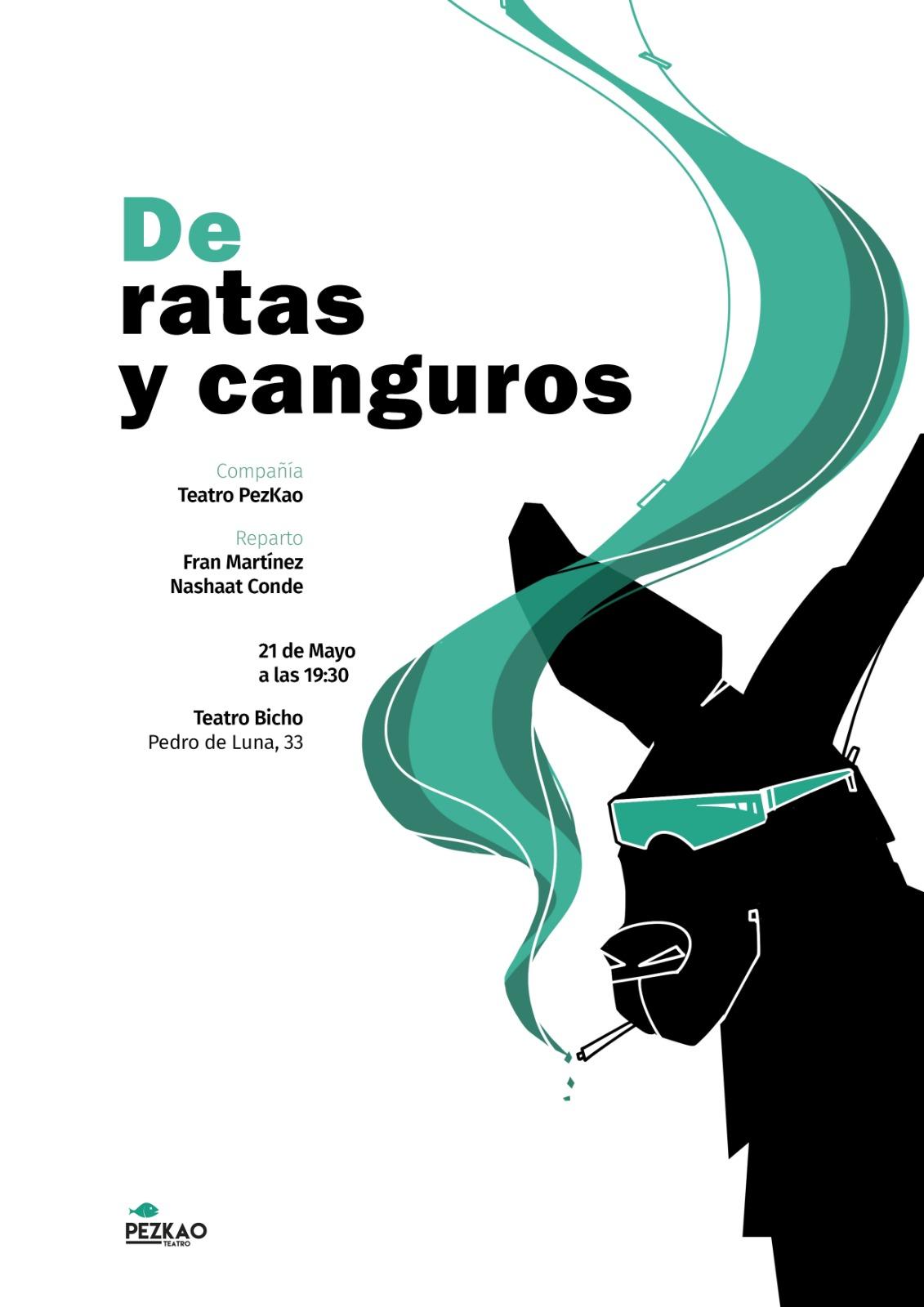 «De ratas y canguros» Cía Teatro PezKao