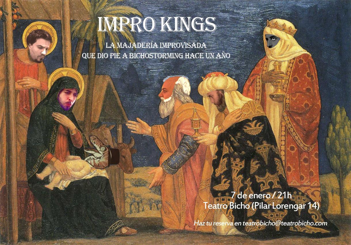 Impro Kings aniversario Bichostorming